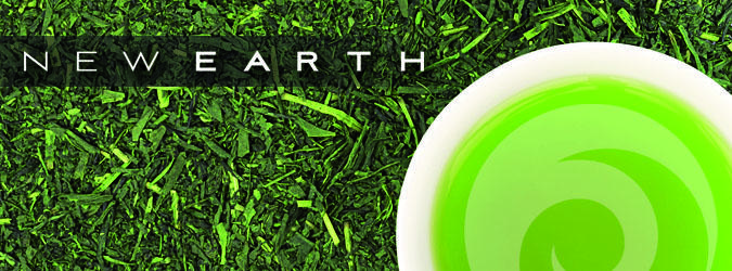GREEN TEA + NEW EARTH = THE BEST OF BOTH WORLDS